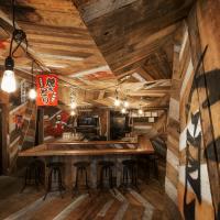Kinoya Restaurant designed by Jean de Lessard