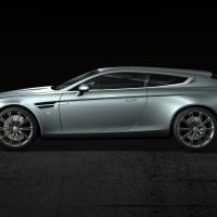 The Aston Martin Virage Shooting Brake Zagato