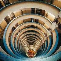 Stacked - Hong Kong Series by Peter Stewart