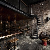 Donny's Bar in Sydney, Australia, designed by Luchetti Krelle