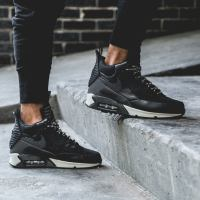 The Nike 2014 Air Max 90 Sneakerboot in Black/Grey-White