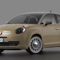 Fiat 600 60th Anniversary Concept by David Obendorfer