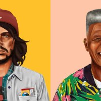 The Hipstory series by Amit Shimoni