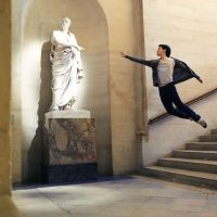 Dance Self-Portraits by Mickael Jou