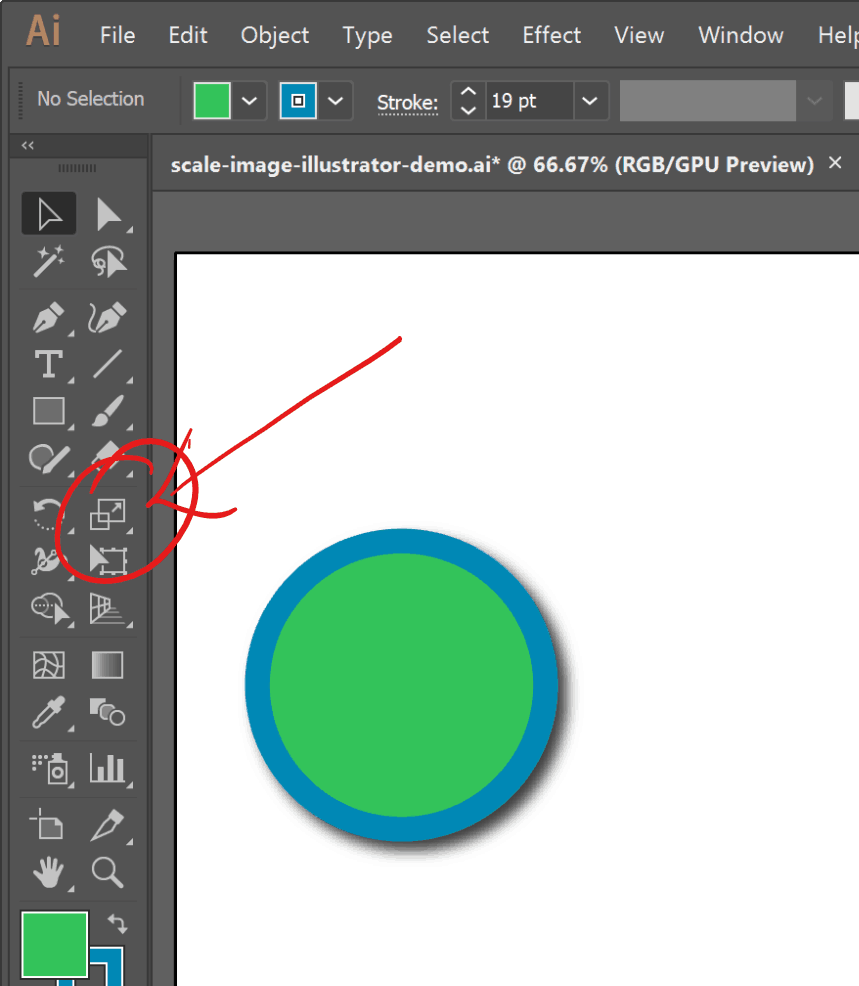 how to change images in illustrator