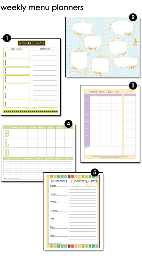 Sunday Planning \u2013 design finch - Free Printable Weekly Planner