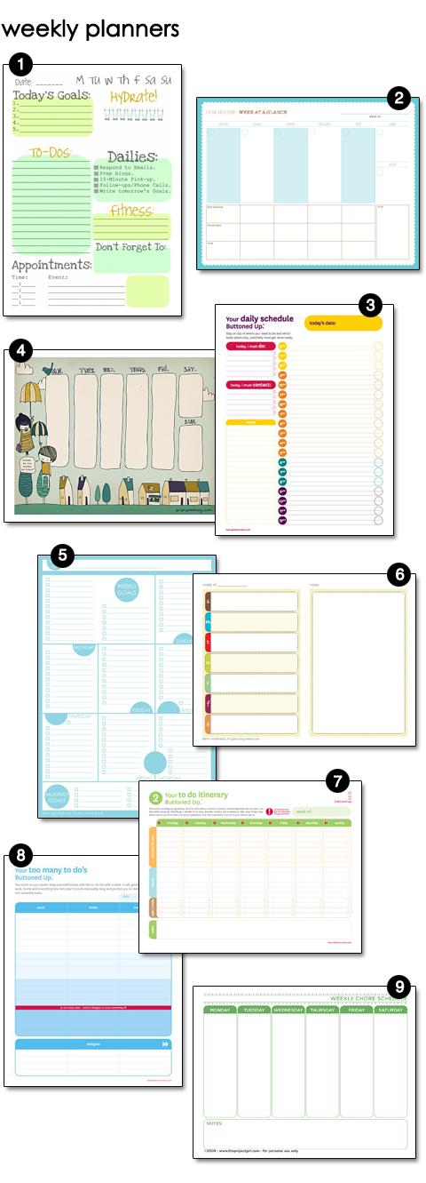 Sunday Planning \u2013 design finch