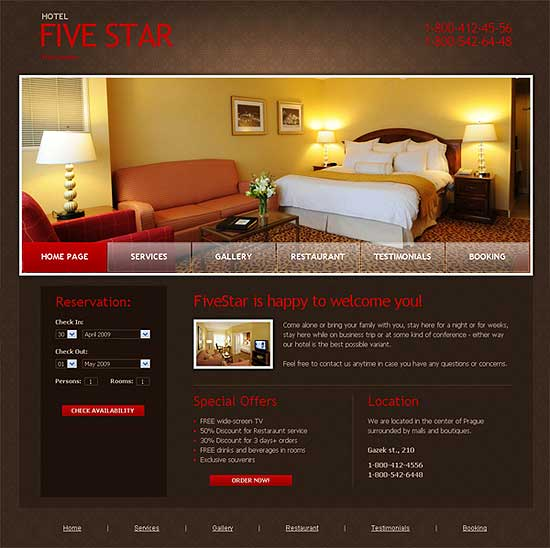 Free XHTML CSS Templates DesignFollow - template free download