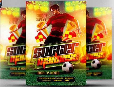 Best Soccer Tournament Flyer Design - soccer flyer template