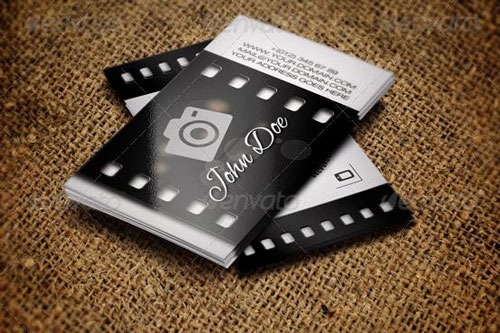 Best Photography Business Card Templates Example - card templates for pographers