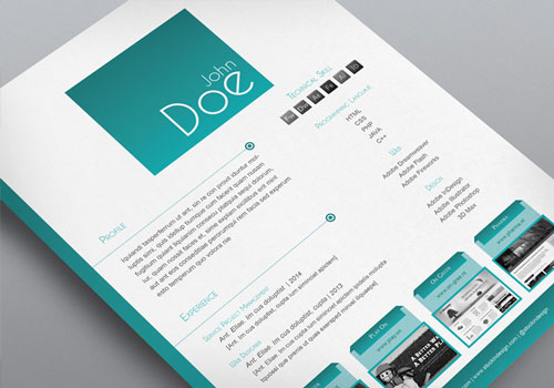 8 Sets of Free InDesign CV/Resume Templates Designfreebies - indesign resume templates
