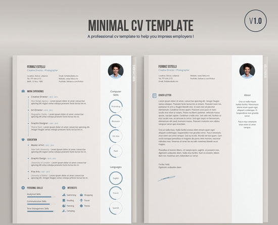 12 Free and Impressive CV/Resume Templates in MS Word Format