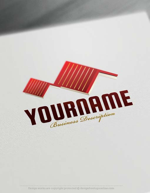 Free Logo Maker - Roof Logo template