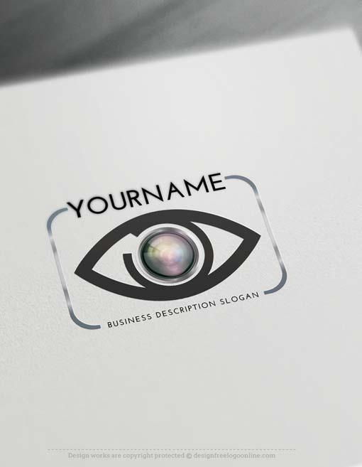 Create focus eye Logo online with Logo Creator Free Logo Creator Free - work schedule creator free