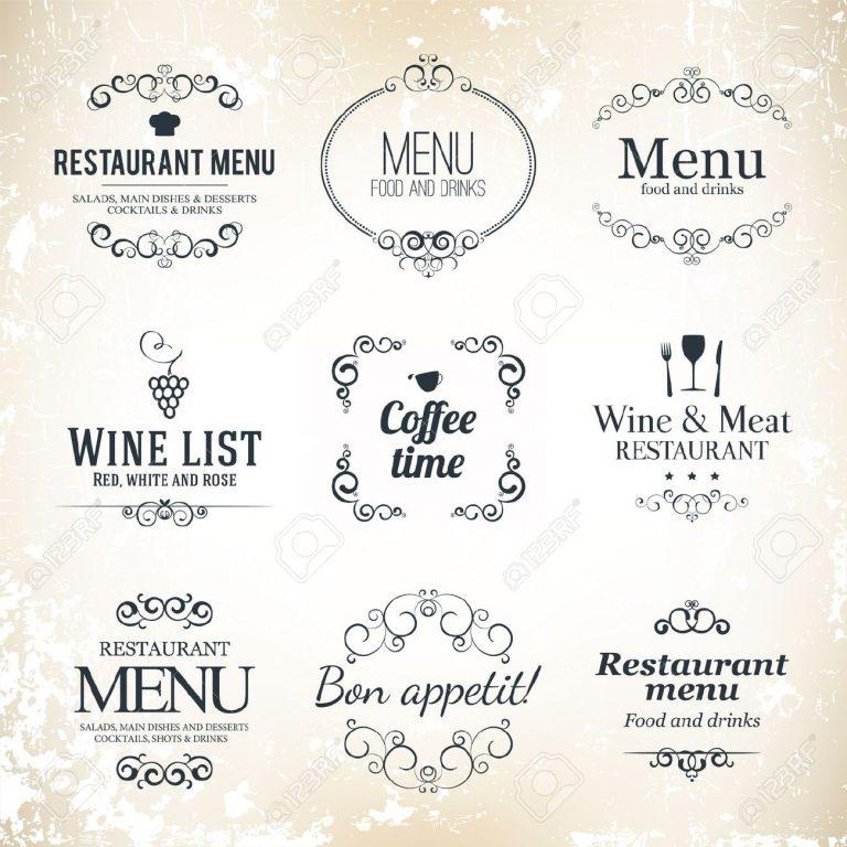 4 Customer Friendly Restaurant Menu Design Tips