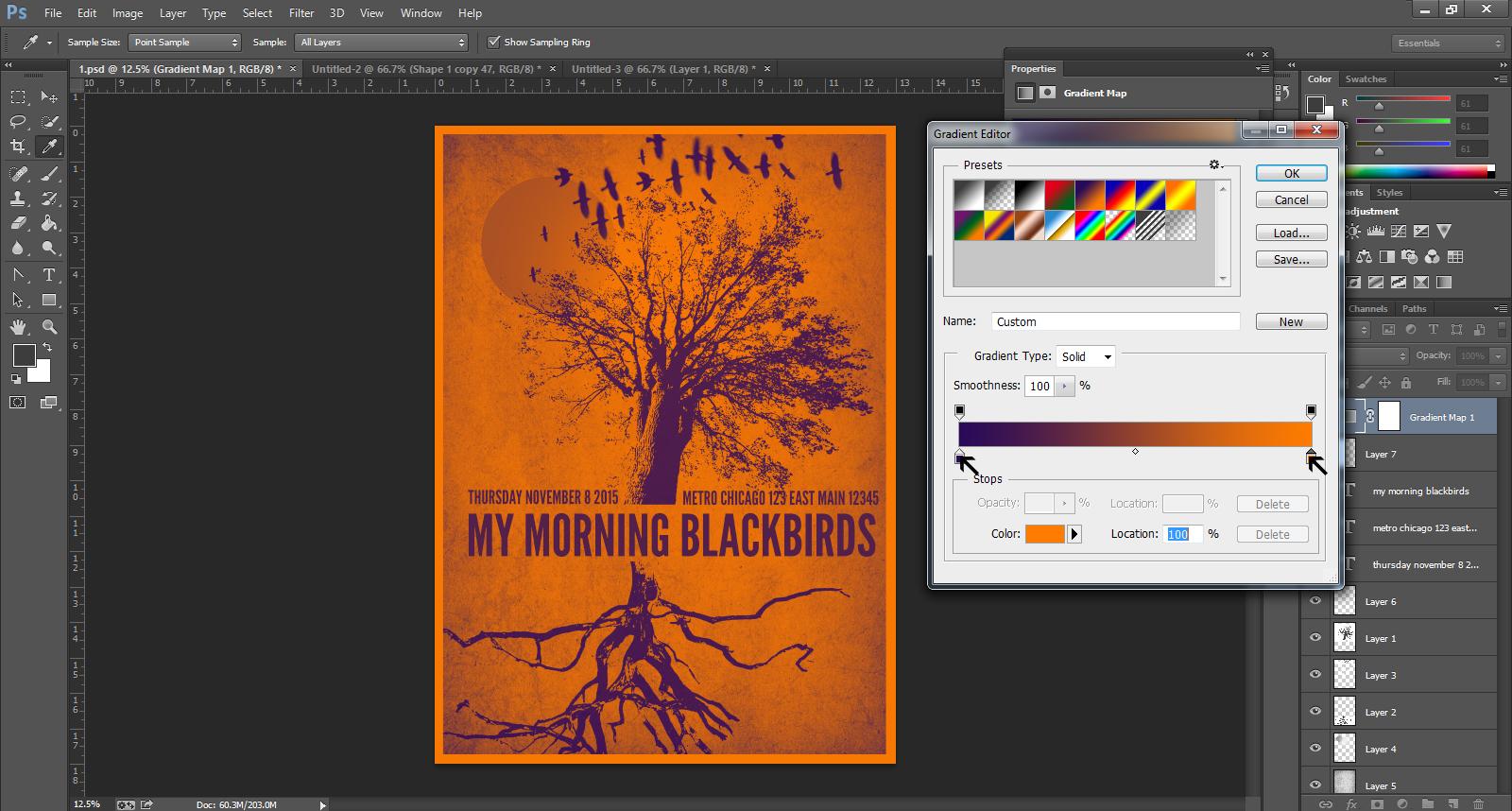 Poster design software - Poster Design Software Gig Poster Design Download