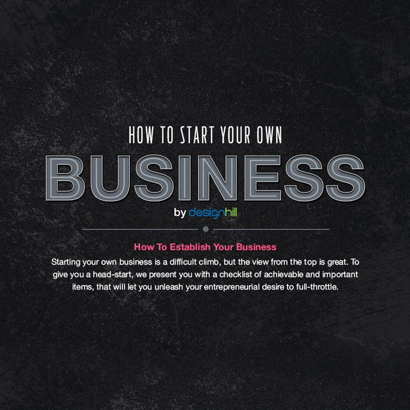 How To Start Your Own Business - Designhill - own business
