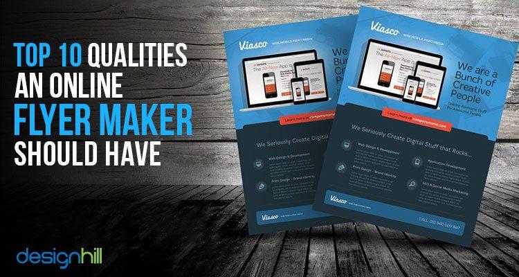 Top 10 Qualities An Online Flyer Maker Should Have