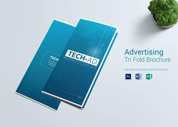 38+ Best Advertising Brochure Templates 2018