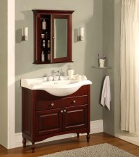 """Empire Industries - WINDSOR 38"""" Shallow Depth Vanity with ..."""