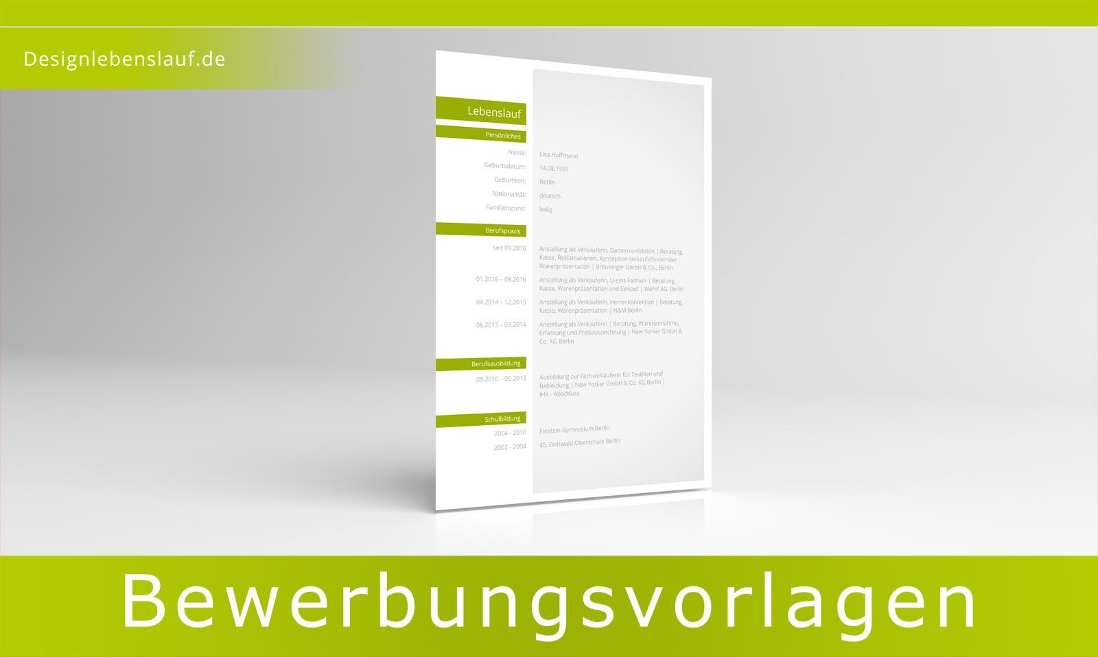 muster vorlage lebenslauf 2018. 3 lebenslauf muster download ...
