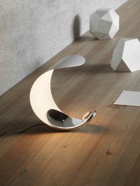 Futuristic Table Lamp Design -Curl from Luceplan ...