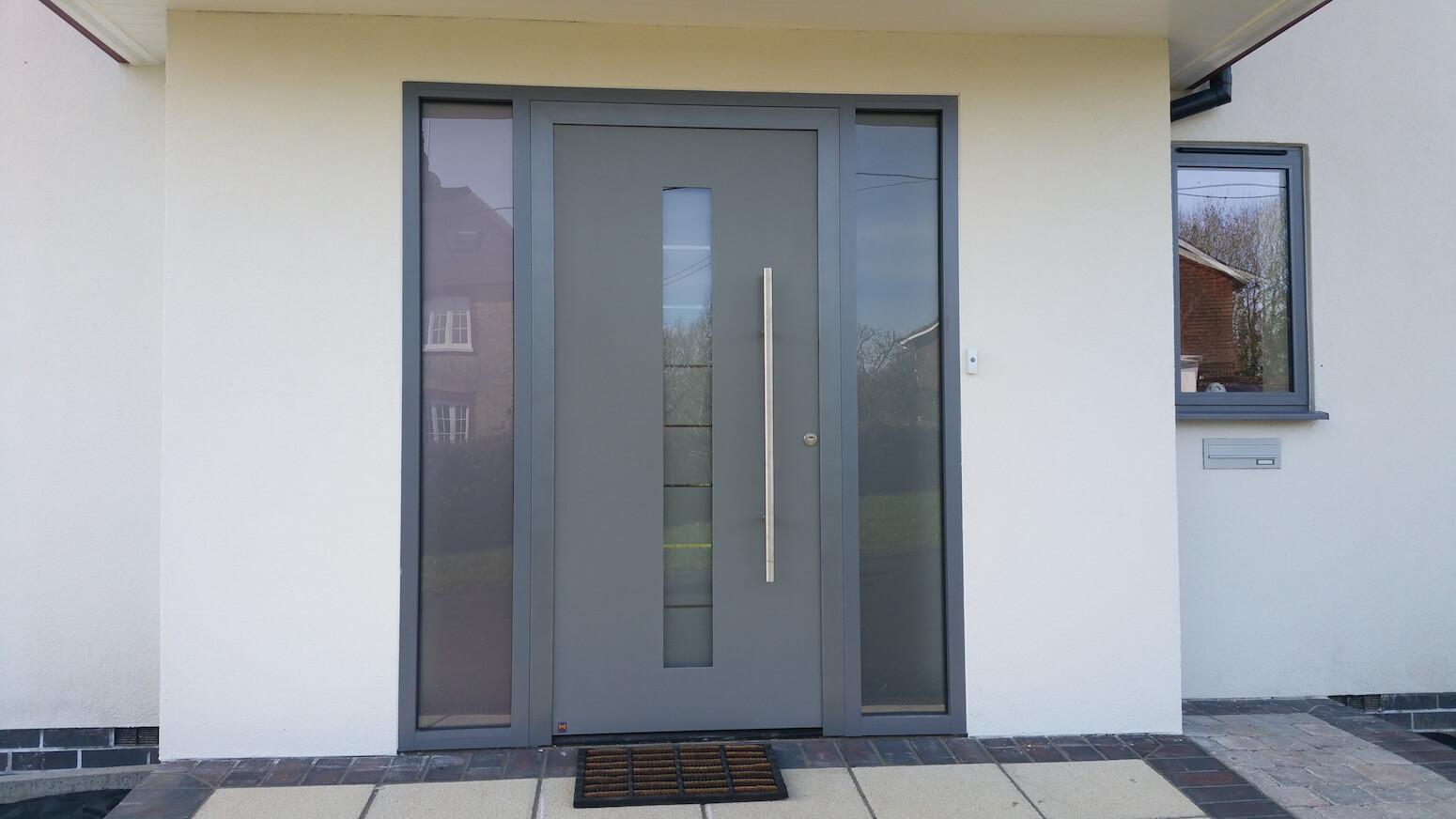 5 advantages of owning an aluminium front door  Interior