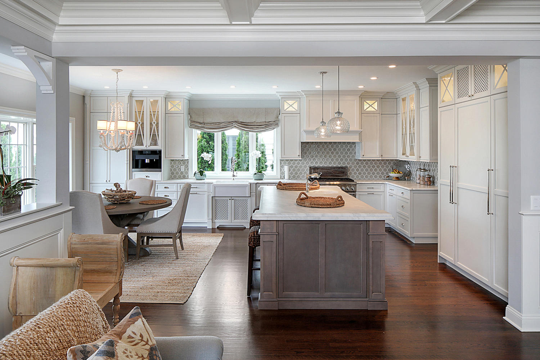 kitchen remodeling photos split level kitchen remodel Coastal Living Spring Lake New Jersey