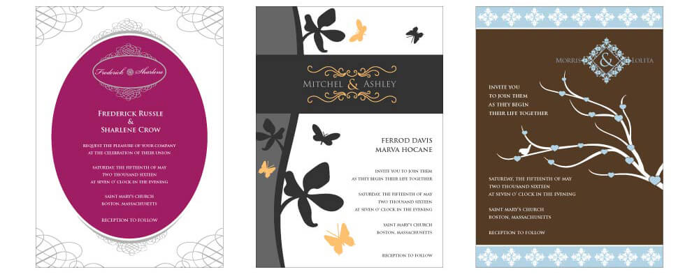 Create Free Wedding Invitations DesignMantic The Design Shop - invitation templates free online