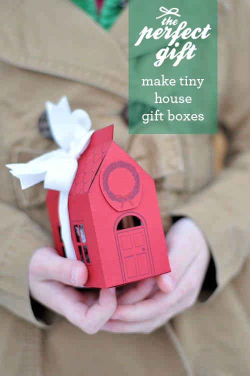 Diy House Gift Boxes The Perfect Gift Design Mom