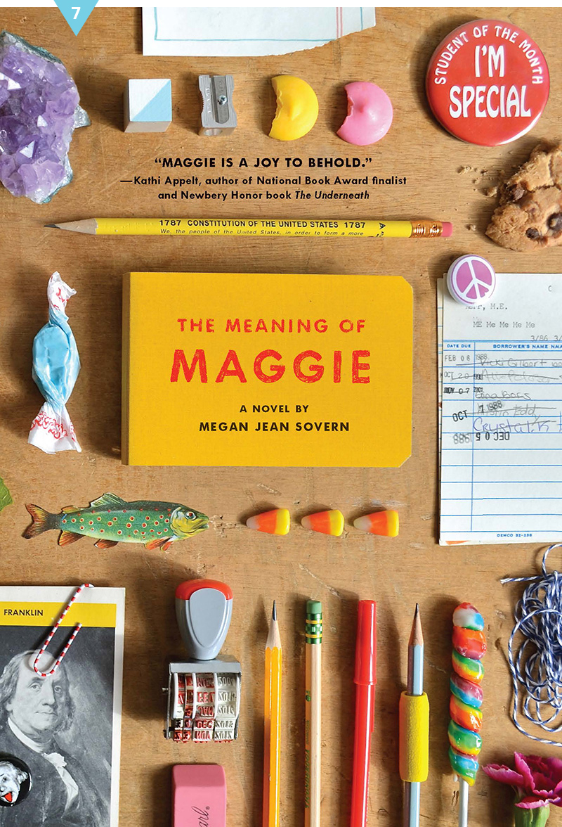 The Meaning of Maggie #givebooks