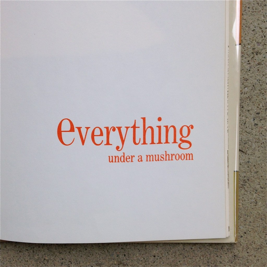 Everything Under a Mushroom by Ruth Krauss and Margot Tomes