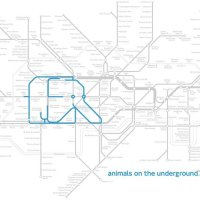 Animals on the underground, Paul Middlewick