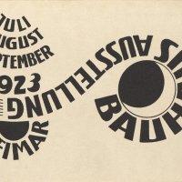 Bauhaus postcards 1923