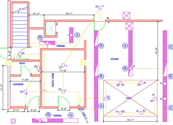 electrical plan legend australia