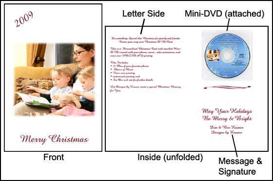 Greeting DVD/Card - Christmas, Kingwood, Houston, TX