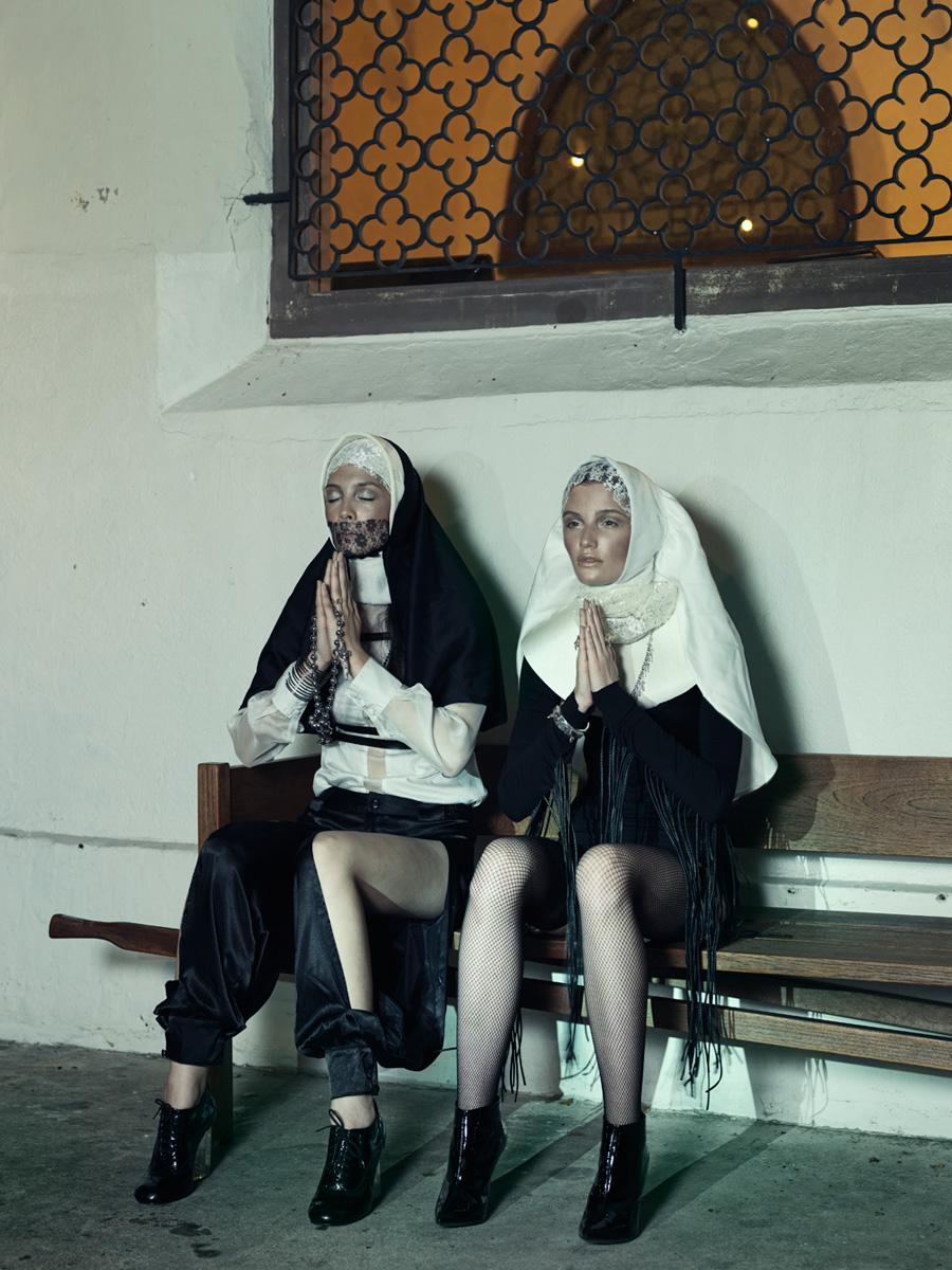 Gas Mask Girl Wallpaper Catholic Guilt By Skye Tan And Randolph Tan For Design Scene