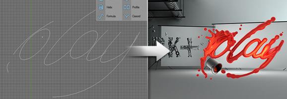 Typographic 3D Text Effect