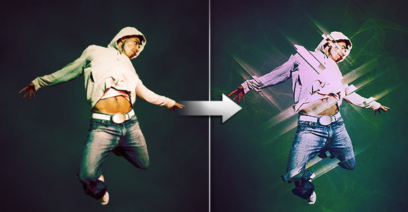 How to enhance your subjects with striking light effects in Photoshop
