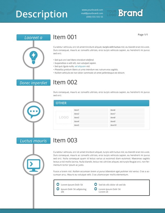 Invoice templates - invoice style