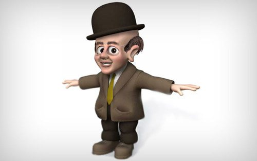 Character 2 in The Ultimate Collection Of Maya 3D Tutorials