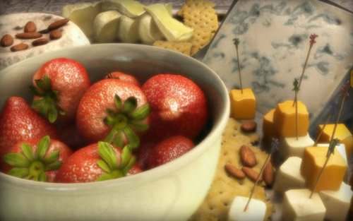 Cheese Platter in The Ultimate Collection Of Maya 3D Tutorials