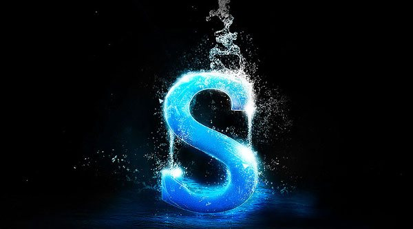 Create Awesome Splashing Water Text Effect in Photoshop