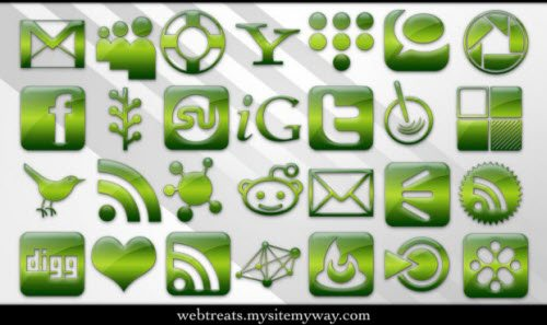 icon pack073 55 Free Social Networking PNG/ICO Icon Packs