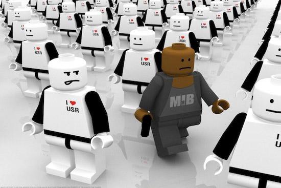 i robot lego version Striking Cartoon Wallpapers to Customize Your Desktop