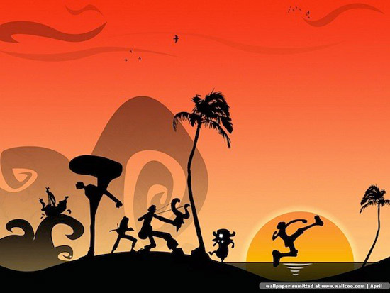 onepiece island Striking Cartoon Wallpapers to Customize Your Desktop