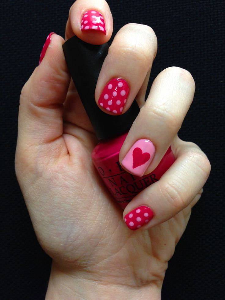incredible valentine's day nail