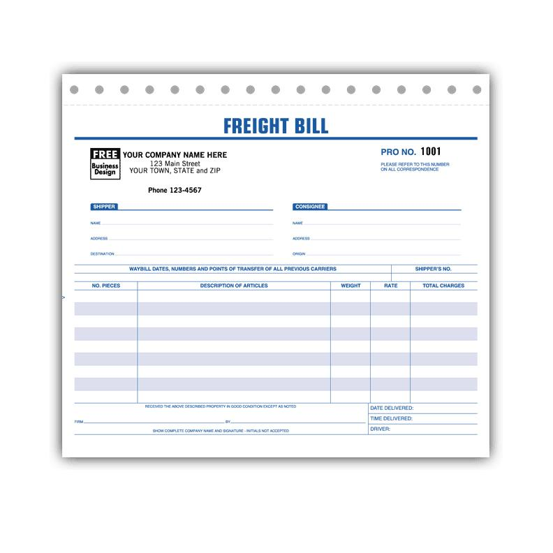 Bill Of Lading Forms - Shipper Packing List Forms DesignsnPrint