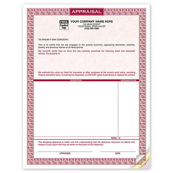Business Proposal Form - Carbonless Job Proposal Forms, Templates - company forms templates