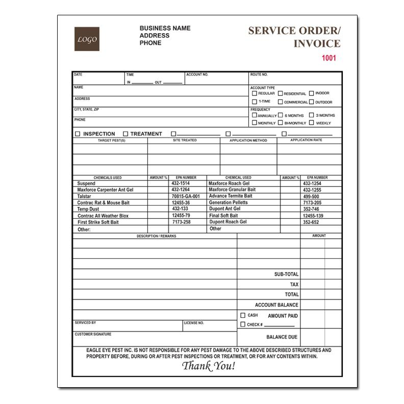 Categories DesignsnPrint - service invoices